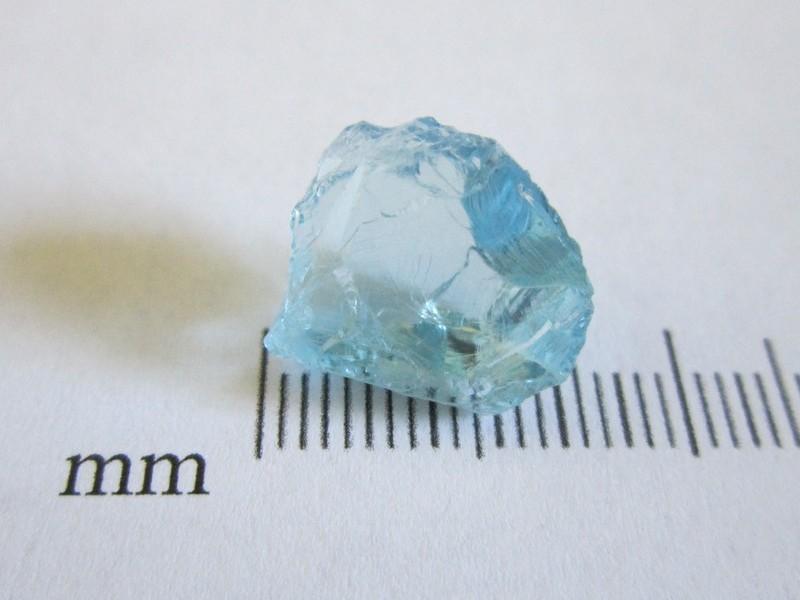 Aquamarine Zambia 8.62cts