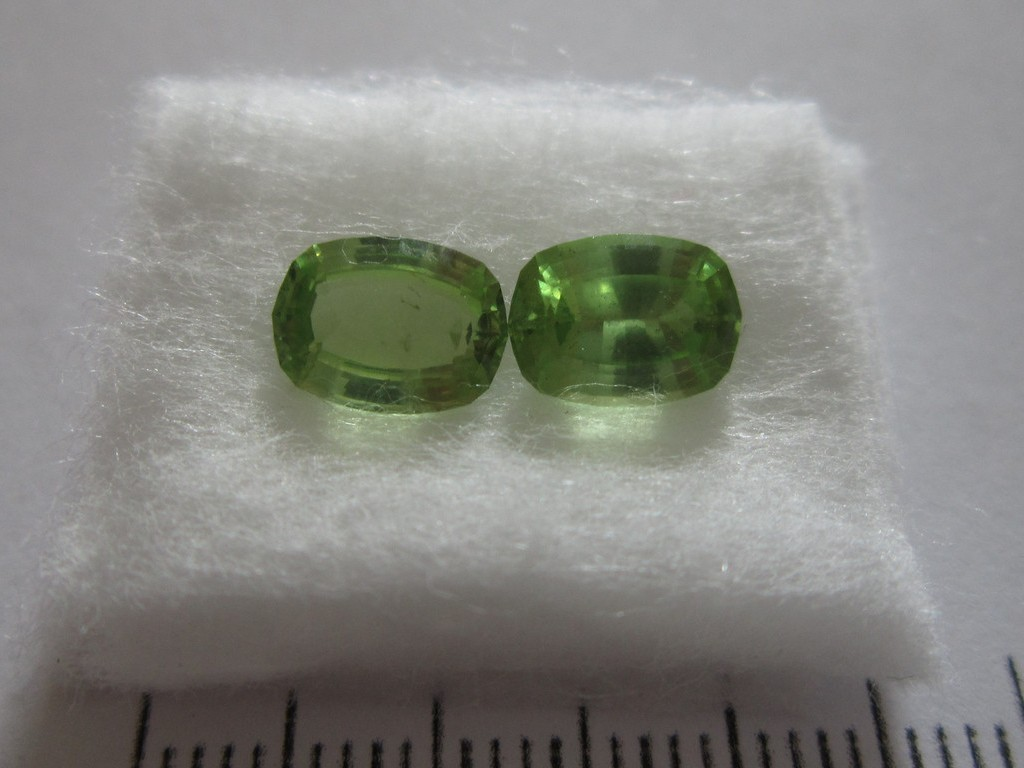 Norwegian Peridot 2.74cts Matched Set