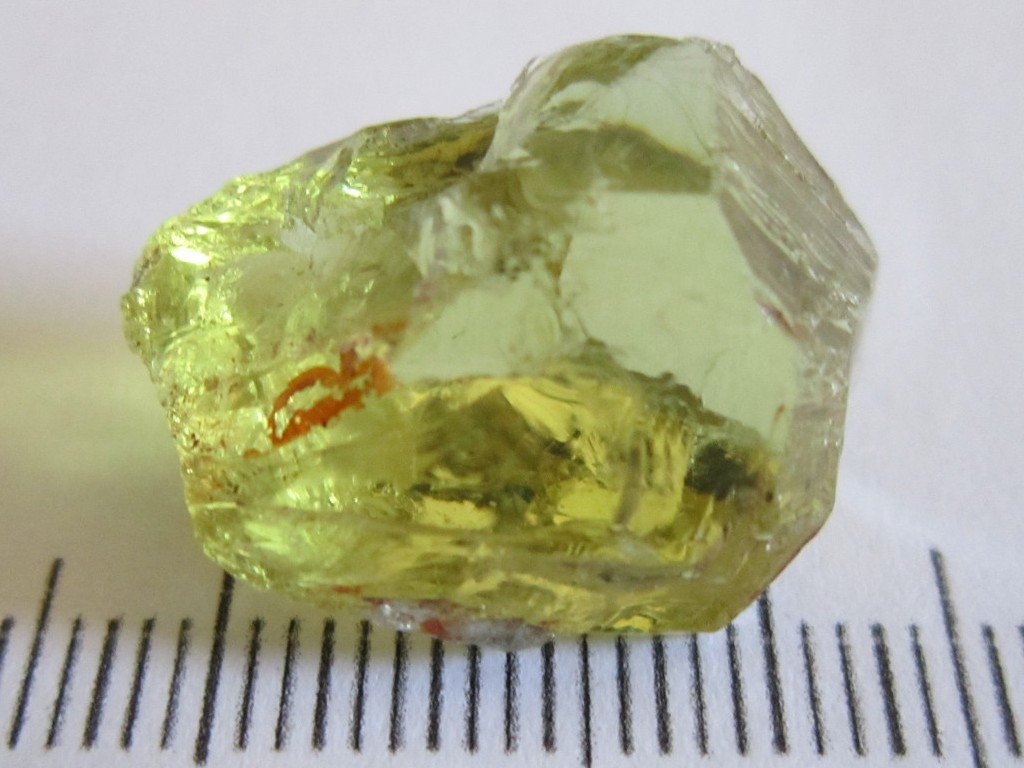 Yellow Apatite 24.33cts