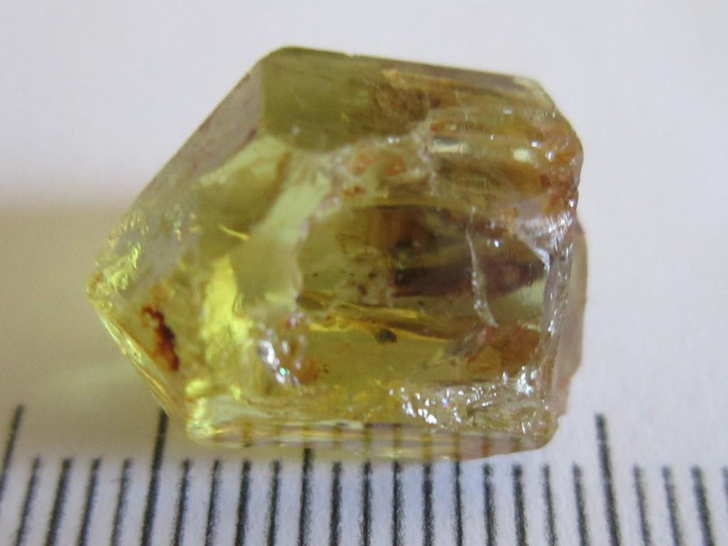 Yellow Apatite 16.83cts